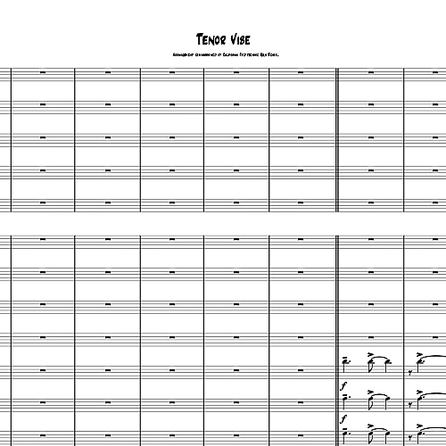 Tenor Vibe - PDF VERSION
