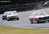 Alan Inglis (23), from Rangiora, corners his 1970 Ford Escort Mk 1