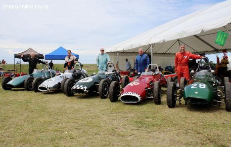 Unique line-up of five Gemini racers from 1959-60