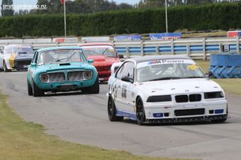 (336) Michael O'Day, from Christchurch, brings out his BMW E36 M3