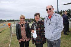 Jo Goodhew, Irene Emond (Trust Aoraki) and Mark Goodhew