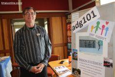 Mark Bourrasa (adg 101), a Mental Health & Addictions Drop-in Centre, Timaru
