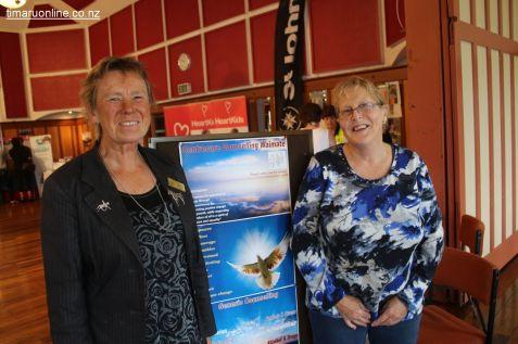 Katie Wiseman & Linda Waitokia (Centrecare Counselling Waimate)