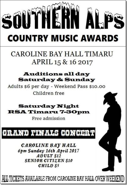 2017 Southern Alps Country Music Awards 0000