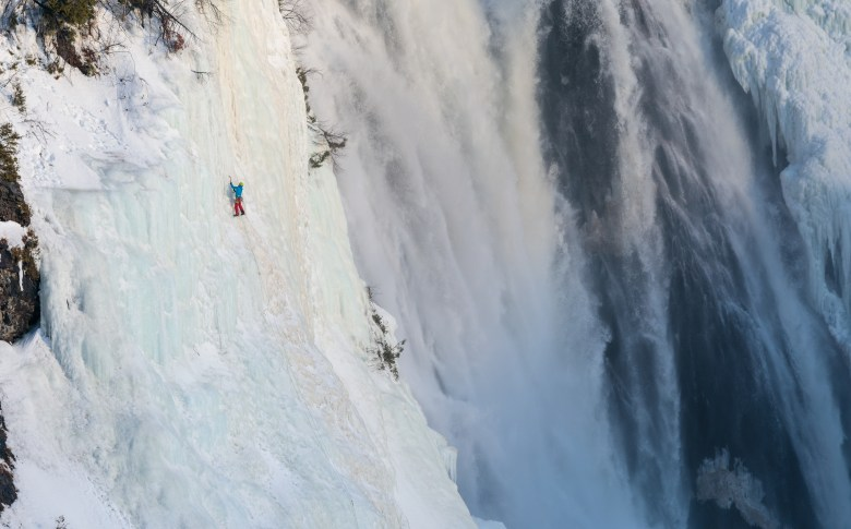 Chutes Montmorency, Pilliers Crystal - Etienne Rancourt (1 of 1)