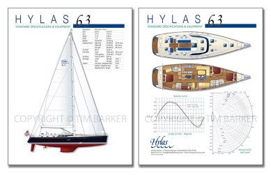 Hylas 63 Spec Brochure