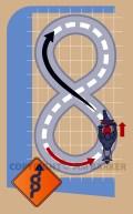Travel and Adventure Figure Eight