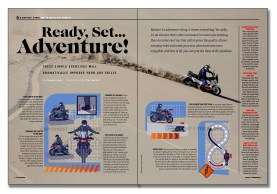 Travel and Adventure Layout