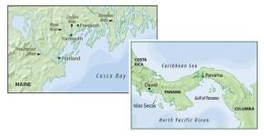 FF0811.Casco Bay Map