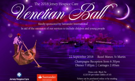 Jersey Hospice Care- Venetian Ball- free lessons prize