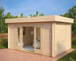 Modern Summer House Jacob E 12m² / 44mm / 4,4 x 3,2 m