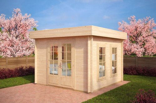 Garden Log Cabin Lucas B 8,5m² / 40mm / 3,2 x 3,2 m