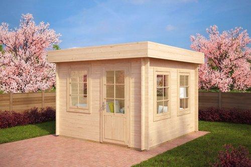 Contemporary Garden Room Lucas C 8,5m² / 40mm / 3,2 x 3,2 m