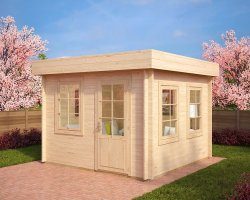 Contemporary Garden Room Lucas C 8,5m² / 40mm / 3,2 x 3,2 m