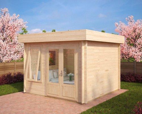 Modern Summer House Lucas D 8,5m² / 40mm / 3,2 x 3,2 m