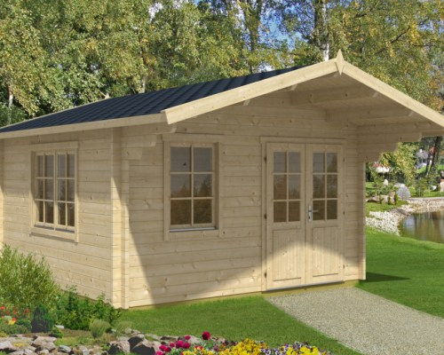 Garden Summer House Marcus B 14,5m² / 50mm / 4,1 x 4,1 m