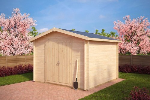 10x10 Shed Nora A 8,5m² / 40mm / 3,2 x 3,2 m