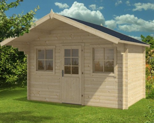Summer House Shed Sara S 8m² / 28mm / 3,8 x 2,5 m