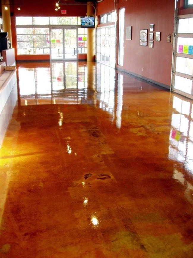 Shellac On Concrete Floors