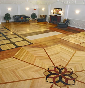 Hardwood Floor Designs by Timber Creek Flooring  Timber