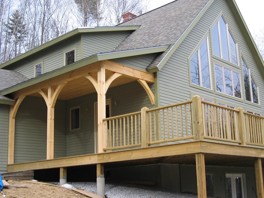 Porches and Exterior Details  Timber Creek Post  Beam