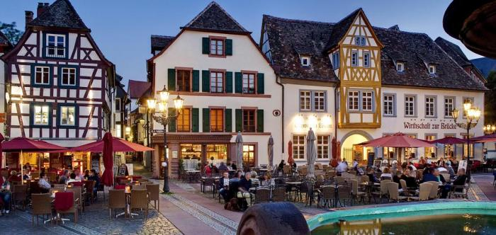 Neustadt an der Weinstrasse - the town I'll be living in