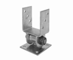 Galvanised Post Holders