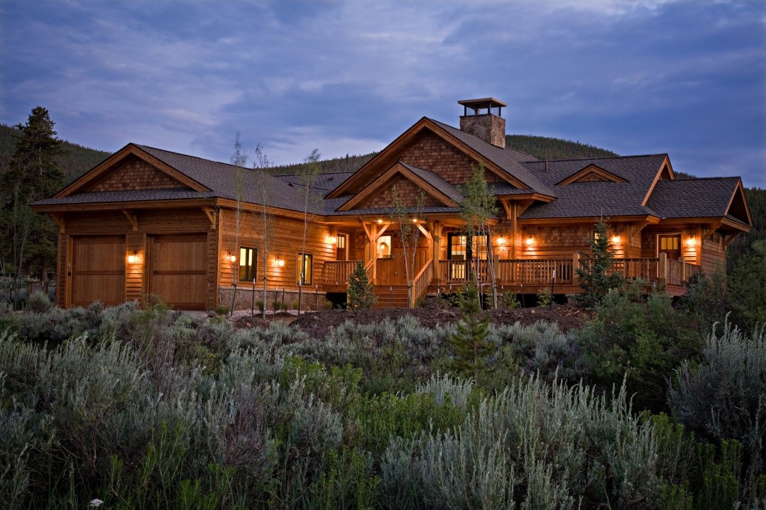 Wedgewood Southern Yellow Pine Timber Frame Home in Breckenridge CO