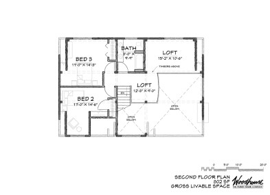 Adirondack 2nd Floor Plan