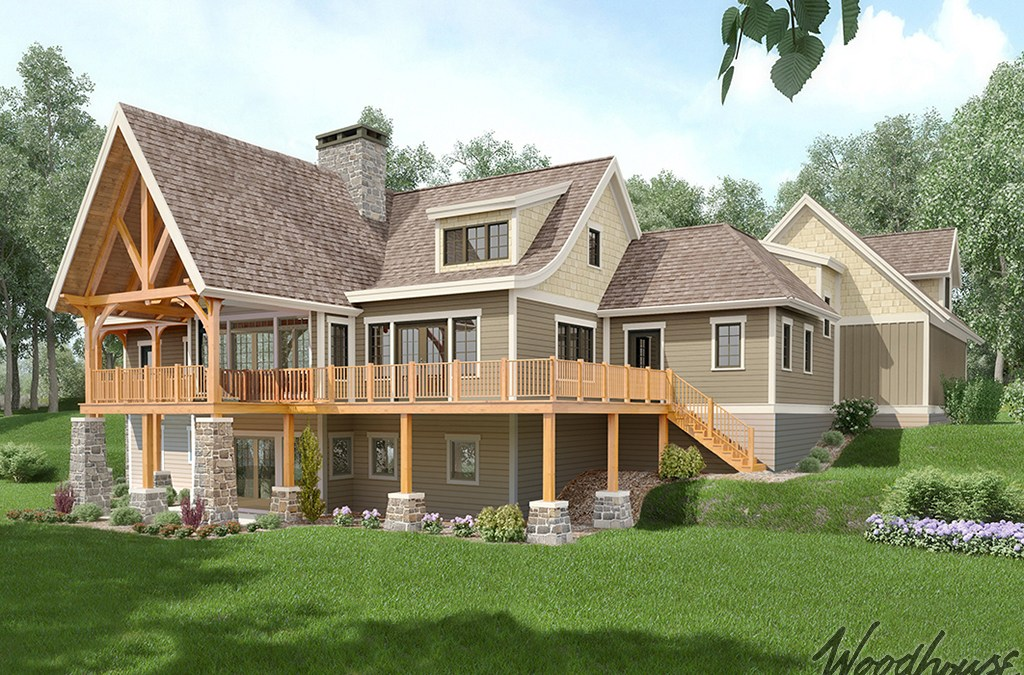 The Aerie – Timber Frame Home Plans