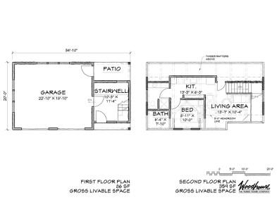 Brentwood Carriage Floor Plan