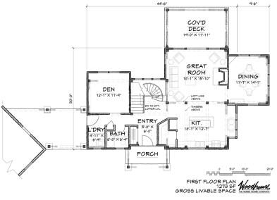 Catawba 1st Floor Plan