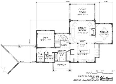 Catawba 1st Floor Plan
