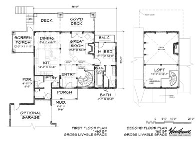CrestView 1st Floor Plan