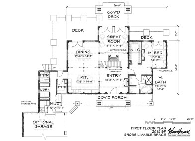 EaglePeak 1st Floor Plan