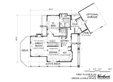 GlenOak 1st Floor Plan