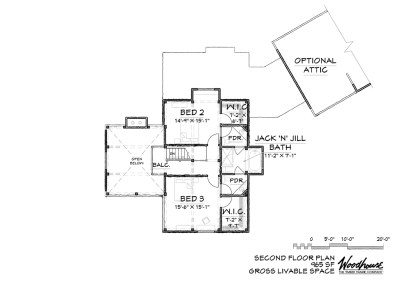 GlenOak 2nd Floor Plan