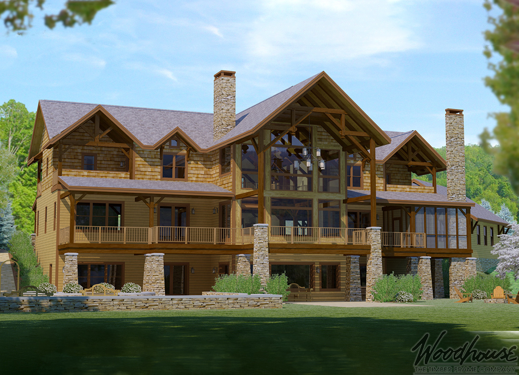Delicieux Woodhouse Timber Frame Homes