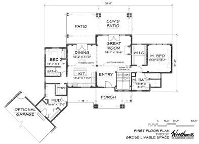 GrizzlyPeak 1st Floor Plan