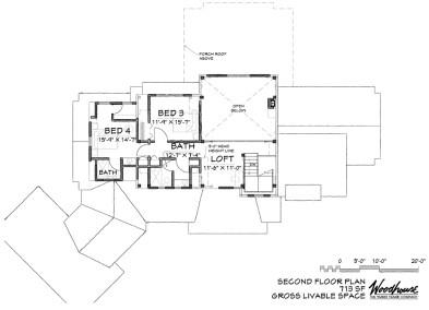 GrizzlyPeak 2nd Floor Plan