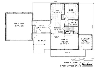MillRun 1st Floor Plan
