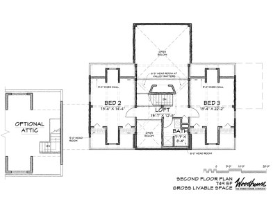 MountainView 2nd Floor Plan