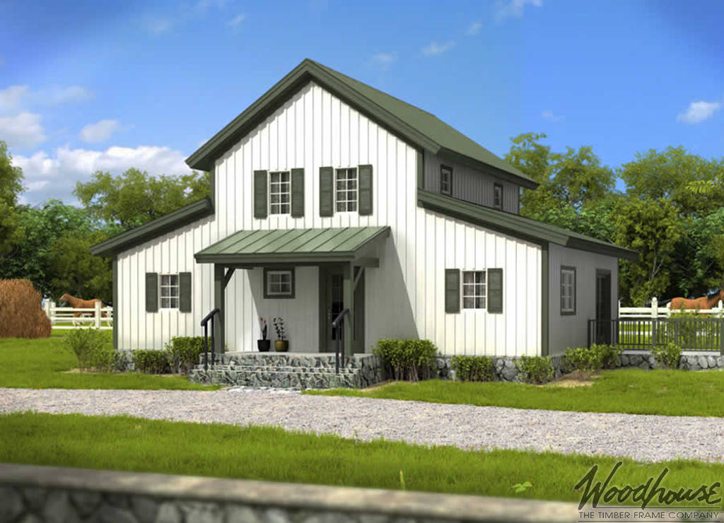 Barn Homes Series Woodhouse The Timber Frame Company