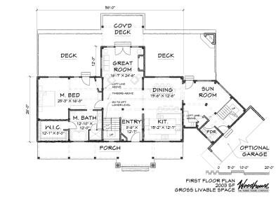 Sagamore 1st Floor Plan