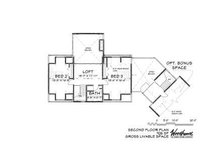 Sagamore 2nd Floor Plan