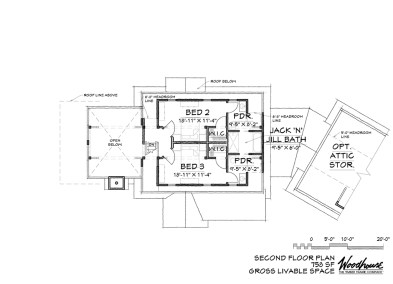 Saranac 2nd Floor Plan