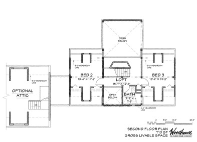 SouthPeak 2nd Floor Plan