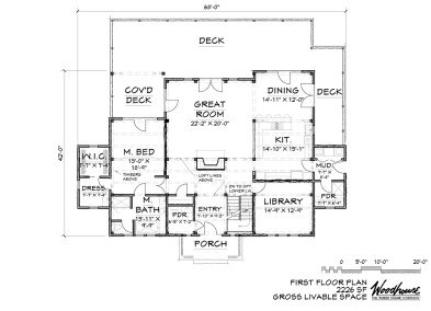 SummitView 1st Floor Plan