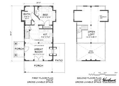 SylvanCottage 1st Floor Plan