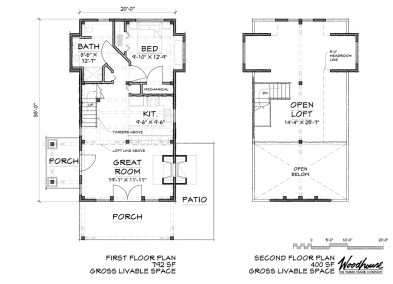 SylvanCottage 1st Floor Plan